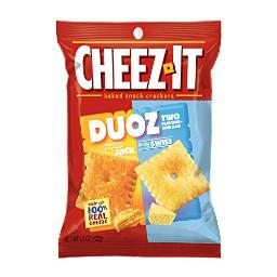 CheezIt Duoz Cheddar Jack Baby Swiss (Pack of 6)