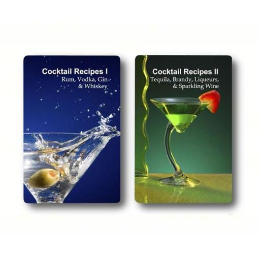 Finders Forum FFPCGT019 Double Deck Cocktail Recipes Playing Cards