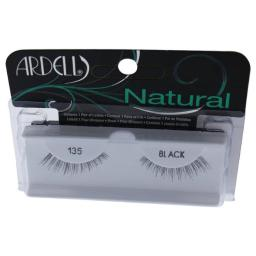 Ardell W-C-15892 Natural Eye Lashes - No.135 Black