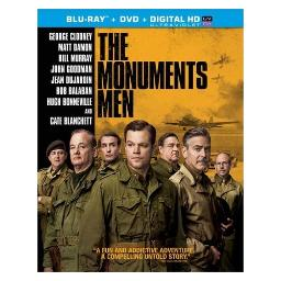 Monuments men (blu-ray/dvd combo/ultraviolet/ws 2.40/2 disc/dol dig 5.1) BR42485