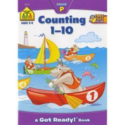 Preschool Workbooks Counting 1-10 - Ages 3-5