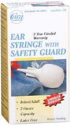 Cara Ear Syringe With Safety Guard - 1 Ct, Pack Of 4
