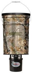 American hunter r50proap american hunter feeder hanging 50lb metal hopper rt-ap camo