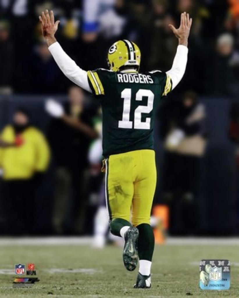 Aaron Rodgers 2014 Action Sports Photo