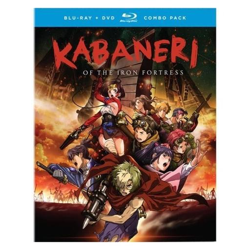 Kabaneri of the iron fortress-season one (blu-ray/dvd combo/4 disc) YE0QVIZE3TUF4DB3