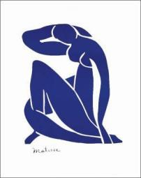 Blue Nude Poster Print by Henri Matisse (22 x 28) TELM110