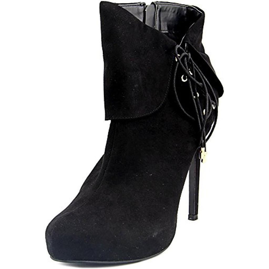 Thalia Sodi Womens OHLIVIA Round Toe Ankle Platform Boots