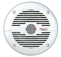 Boss Audio Mr50 Boss Marine 5.25 2-Way Coaxial Speaker 150W White
