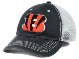 "Cincinnati Bengals NFL 47 Brand ""Taylor"" Stretch Fitted Hat"