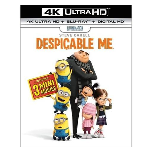Despicable me (blu-ray/4kuhd/ultraviolet/digital hd)