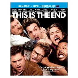 This is the end (blu-ray/dvd combo/ws 2.40/ultraviolet/2 disc/dd5.1/eng) BR41762