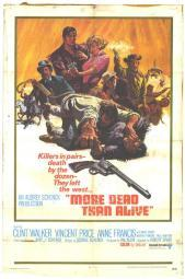 More Dead Than Alive Movie Poster Print (27 x 40) MOVAH0282