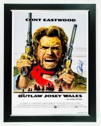 Outlaw - Signed Movie Poster in Wood Frame with COA
