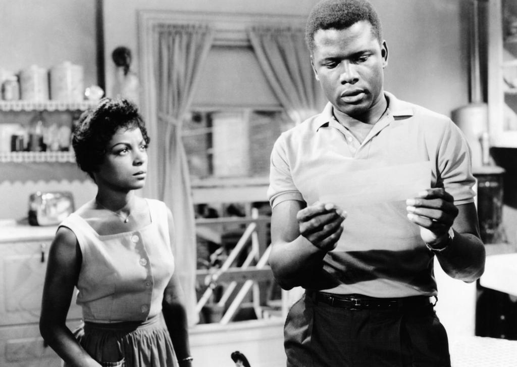A Raisin In The Sun From Left: Ruby Dee Sidney Poitier 1961 Movie Poster Masterprint