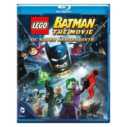 Lego batman-movie dc superheroes unite (blu-ray/dvd/2 disc/with toy) BR305905