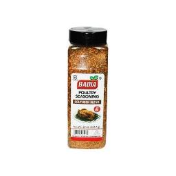 Badia Poultry Seasoning Southern Blend No MSG 22 oz, 2 Pack