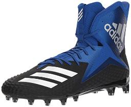 adidas Men's Freak X Carbon Mid Football Shoe, core Black/White/Collegiate Royal, 13 M US