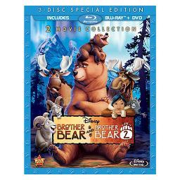 Brother bear/brother bear 2 (blu-ray/dvd/3 disc) BR109749