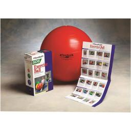 Theraband 30-1877 22 in. Pro Series SCP Inflatable Exercise Ball, Red