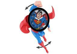 Superman clock 3d motion nla CL3902