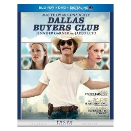 DALLAS BUYERS CLUB (BLU RAY/DVD/DIGITAL HD W/ULTRAVIOLET) 25192211416