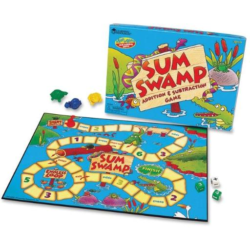 Learning Resources LRNLER5052 Sum Swap Addition & Subtraction Game WIE4OED2MNEURO6M