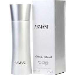 ARMANI CODE ICE by Giorgio Armani EDT SPRAY 2.5 OZ 100% authentic