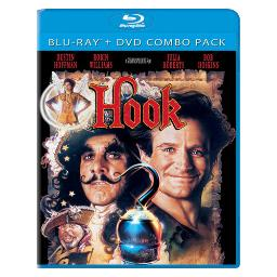 Hook blu ray/dvd combo 2 disc/5.1 dts/dts5.1/eng/french(paris/korean/chin) BR38087