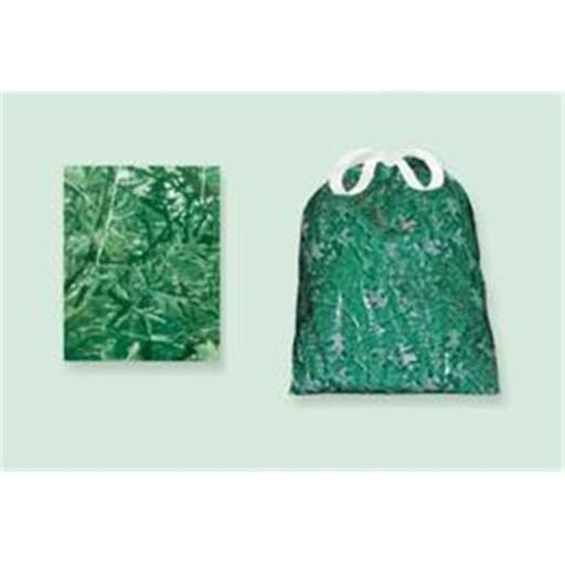 Sassy Sacks for Trash SS1001 - 3 green Designer trash can liners with additional uses - Pack of 6