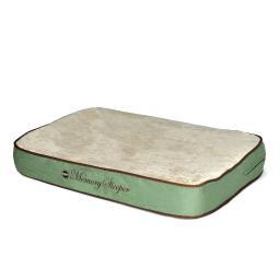 K&H Pet Products 4153 Sage K&H Pet Products Memory Sleeper Pet Bed Medium Sage 23 X 35 X 3.75