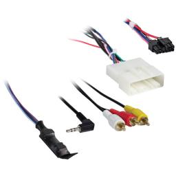 Axxess(r) ax-nis24swc-6v nissan(r) (with nav) 2011 & up harness with 6-volt converter
