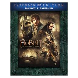 HOBBIT-DESOLATION OF SMAUG (BLU-RAY/UV/EXT EDITION/3 DISC) 883929416936