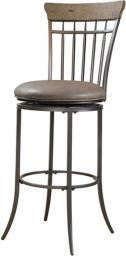 Charleston Swivel Vertical Spindle Bar Stool