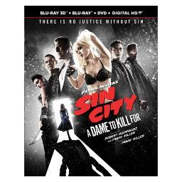 Sin city-dame to kill for (blu-ray/3d/dvd/combo/uv/3 disc) (3-d) BR61298