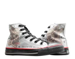Converse Chuck Taylor All Star Sailor Jerry Tattoo Grey/Blk Hi Sneakers 1Y813