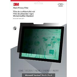 3M Mobile Interactive Solution Pftms001 Privacy Filter For Surface Pro 3/Pro 4