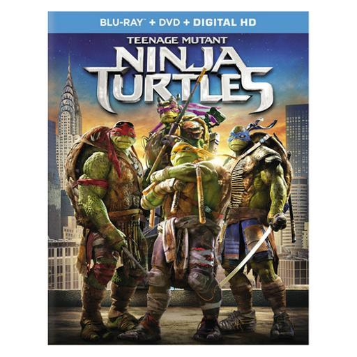 Teenage mutant ninja turtles (2-disc combo/blu-ray/dvd/digital hd) WXCQAXYUU3OYKEMI