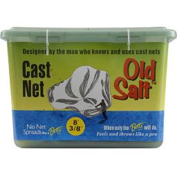 Betts B06pm Betts Old Salt Cast Net 6 Ft. Clear 0.37 In. Mesh