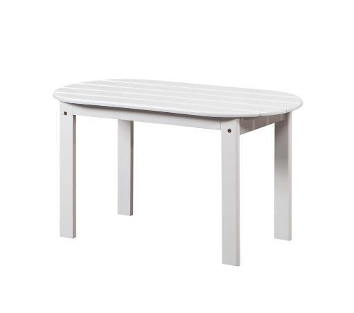 Linon Adirondack White Coffee Table