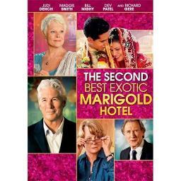 SECOND BEST EXOTIC MARIGOLD HOTEL (DVD/WS-2.39) 24543989004