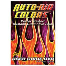 Auto Air Colors 591600 Auto Air User Guide Dvd