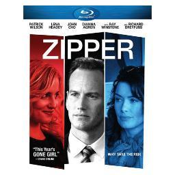 Zipper (blu ray)                                              nla BRA-16266