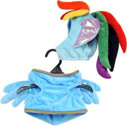 Rubie's My Little Pony Rianbow Dash Harness & Leash-Extra Large 580493XL