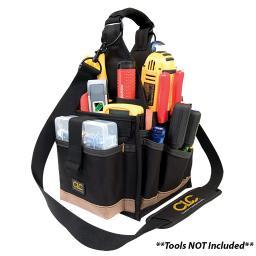 Custom LeatherCraft 23-Pocket Electrical and Maintenance Tool Pouch