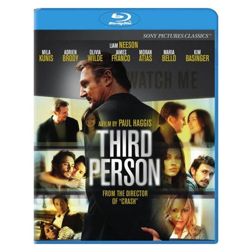 Third person (blu-ray/ws 2.35/dol dig 5.1/eng/us/latin ameri span)