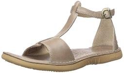 Bogs Women's Amma Leather Sandal, Taupe, 6 M US