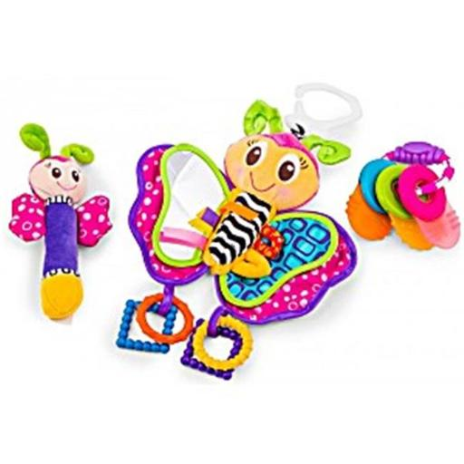 Playgro 0183172 Butterfly Teether Pack for Baby EGPPSUDVUYNA8USA