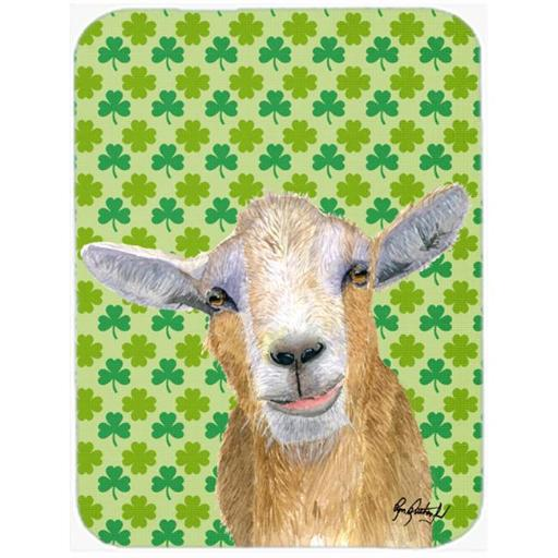 7.75 x 9.25 In. St Patricks Day Goat Mouse Pad, Hot Pad or Trivet