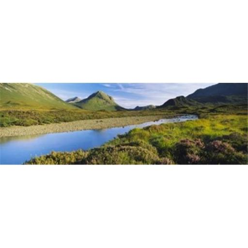 Panoramic Images PPI109232L River flowing on a landscape River Sligachan Glen Sligachan Isle of Skye Scotland Poster Print by Panoramic Images - 3