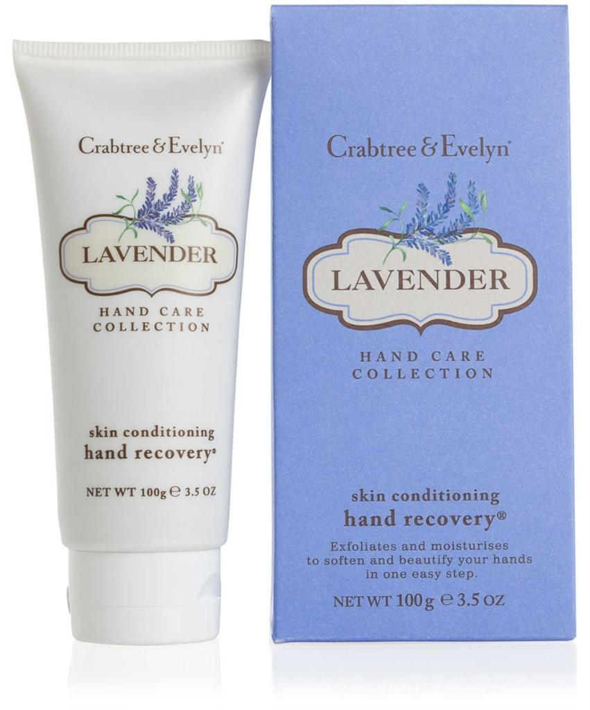Crabtree & Evelyn LAVENDER Skin Conditioning Hand Recovery 3.5 Oz